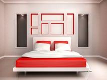 3d illustration of interior of modern bedroom Stock Photo