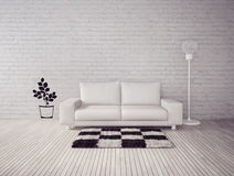 3d illustration interior Royalty Free Stock Photo