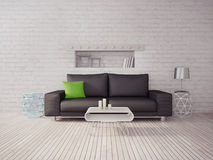 3d illustration interior Stock Photo