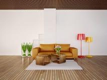 3d illustration interior Stock Image