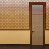 3d illustration Islamic style interior design Stock Photo