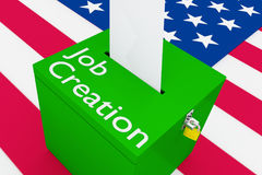 Job Creation concept Stock Images
