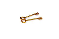 3d illustration of a key to the door, happiness, love and home Stock Image
