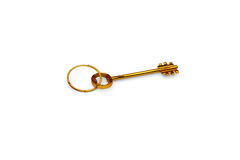 3d illustration of a key to the door, happiness, love and home Royalty Free Stock Photography
