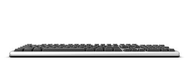 3d illustration Keyboard. Keyboard  on white background Stock Photos