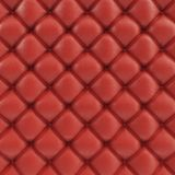 3D illustration leather sofa texture. Luxurious texture of red-colored leather upholstery. Leather Upholstery Sofa Royalty Free Stock Photo