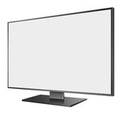 3D illustration of  LED TV in Perspective view Royalty Free Stock Images