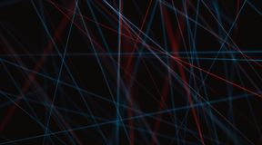 Abstract background lines. 3D illustration of line connections, abstract image to use as background vector illustration