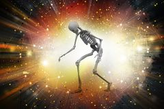 Man Skelton Royalty Free Stock Photos