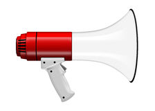 3D illustration Megaphone  on white Stock Photography
