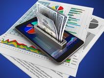 3d money stock illustration