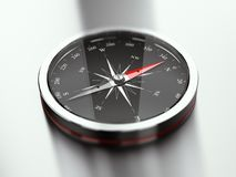 Modern Compass Pointing North Stock Photography