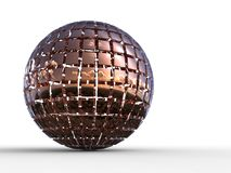 Sphere 3d Royalty Free Stock Photos