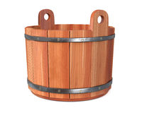 3d illustration objects for a sauna Royalty Free Stock Photography