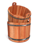3d illustration objects for a sauna Royalty Free Stock Image