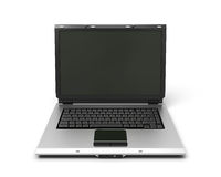 3d illustration open laptop notebook Royalty Free Stock Image