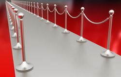 3d illustration of path to the success Stock Photography