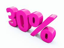 30 Percent Pink Sign. 3d Illustration Pink 30 Percent Discount Sign, Sale Up to 30, 30 Sale, Pink Percentages Special Offer, Save On 30 Icon, 30 Off Tag, Pink 30 Stock Photo