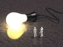 3D illustration of power supply Stock Photo