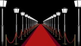 3D illustration. Red carpet. vector illustration