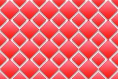 Red diamonds background Stock Image