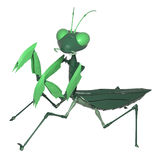3d illustration robot mantis Stock Image