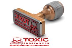 Hazardous Substances, Chemical Toxicity Information Stock Photo