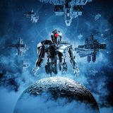 Dawn of the machines Royalty Free Stock Photography