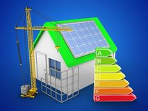 3d clean energy Stock Image