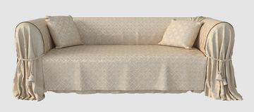 3D Illustration of a Sofa Stock Images
