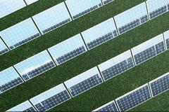 3D illustration solar panels. Solar panel produces green, environmentally friendly energy from the sun. Concept energy Stock Photography