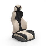 3d illustration. Sports car seat Royalty Free Stock Photos