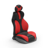 3d illustration. Sports car. Seat on mebom background Stock Photography
