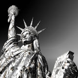 3D Illustration of the Statue of Liberty Royalty Free Stock Images