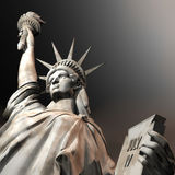 3D Illustration of the Statue of Liberty Royalty Free Stock Photography