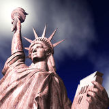 3D Illustration of the Statue of Liberty Stock Photos