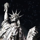 3D Illustration of the Statue of Liberty Stock Photo