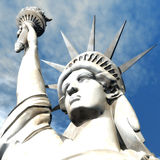 3D Illustration of the Statue of Liberty Stock Images