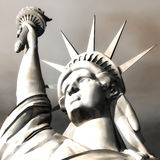 3D Illustration of the Statue of Liberty Royalty Free Stock Photo