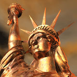3D Illustration of the Statue of Liberty Stock Image