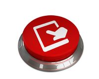 Touch Tab Icon. 3D illustration -Touch Tab Icon Royalty Free Stock Photography
