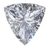 3D illustration trillion curved diamond stone Royalty Free Stock Photo