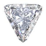 3D illustration trillion straight diamond stone Royalty Free Stock Images