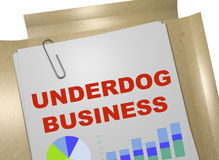 Underdog Business concept Royalty Free Stock Photos