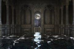3D illustration d'une scène d'imagination, éléments par la NASA illustration libre de droits
