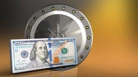 3d cash Stock Image