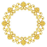Gold ornate Royalty Free Stock Images