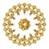 Gold wreath Royalty Free Stock Photos