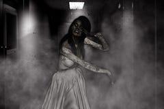 Zombie Bride Royalty Free Stock Image
