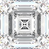3D illustration zoom white gemstone expensive jewelry diamond. 3D illustration zoom macro white gemstone expensive jewelry diamond stock illustration